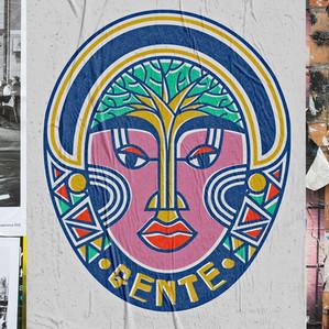 """/// logo concept for """"GENTE"""""""