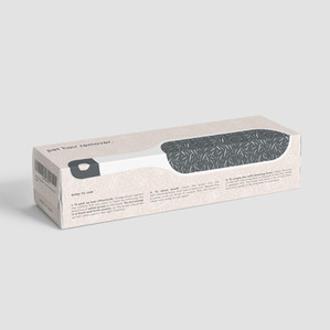 /// pet hair remover packaging concept