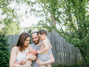 WELCOME MARIN | Arlington Lifestyle Newborn Session