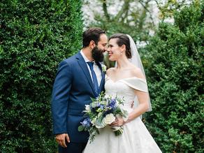 GRACE + THOMAS | Little Oatlands in Leesburg, VA Wedding