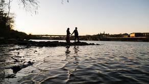 LAURA + BRIAN | Roosevelt Island Engagement Session