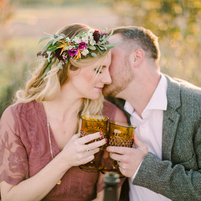 A Romantic Vineyard Styled Shoot
