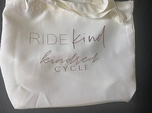 RIDE KIND tote bag
