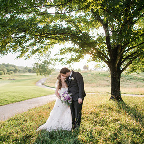 Julia + Chris' Piedmont Club Wedding