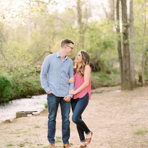 Caitlin + Zach's Engagement Session