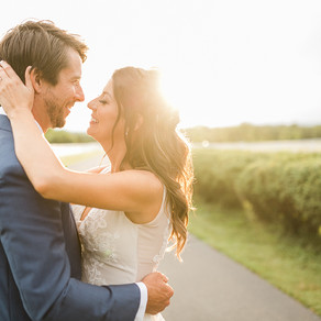 Stephanie + Chase's Laid-Back Farm Wedding