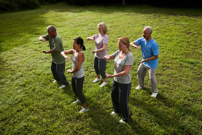 Virtual Tai Chi Classes offered by MSU Extension
