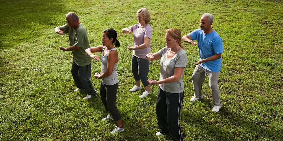 Tai Chi MOVEMENT - May Session OUTSIDE
