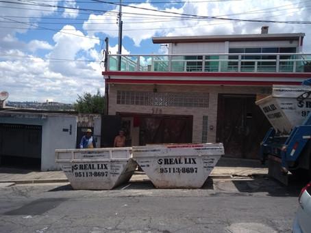 Aluguel de caçambas em Campinas tem reajuste a partir desta sexta-feira