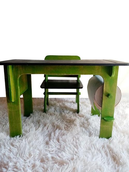 Mesa infantil y silla Testa