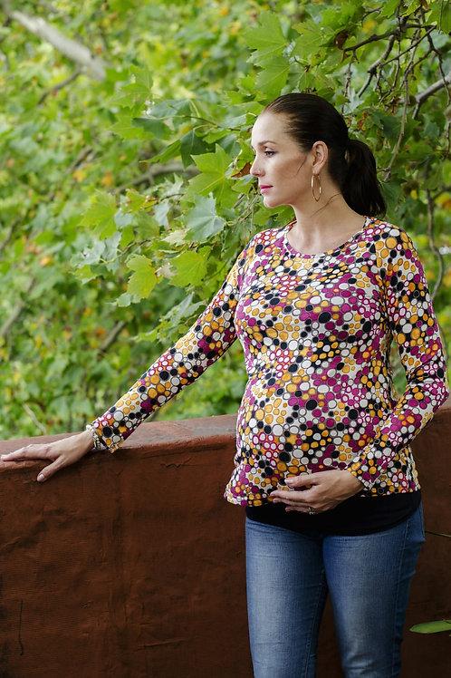 Remera embarazo Callie