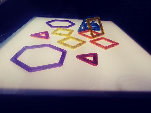 Caja de luz Montessori Testa