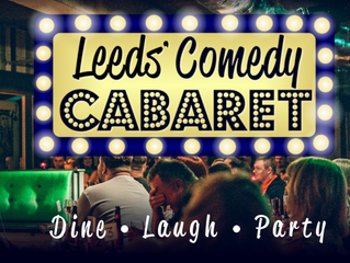 Leeds Comedy Cabaret launch offer.