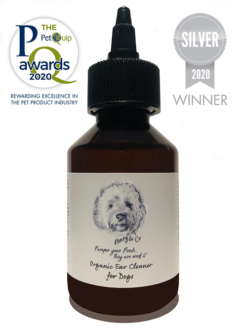 Organic Ear Cleaner for Dogs   100ml