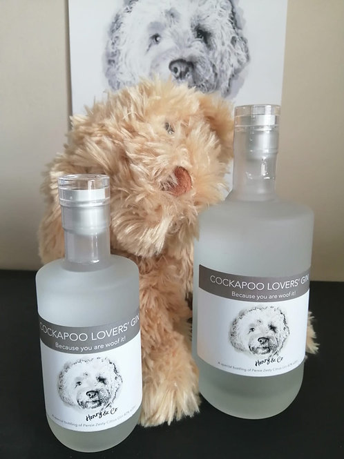 Cockapoo Lovers Gin