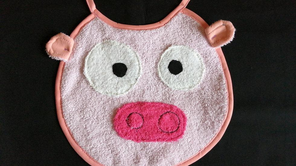 bavoir cochon