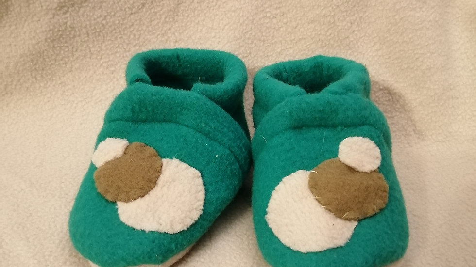 Chaussons petits ronds 9-12 mois