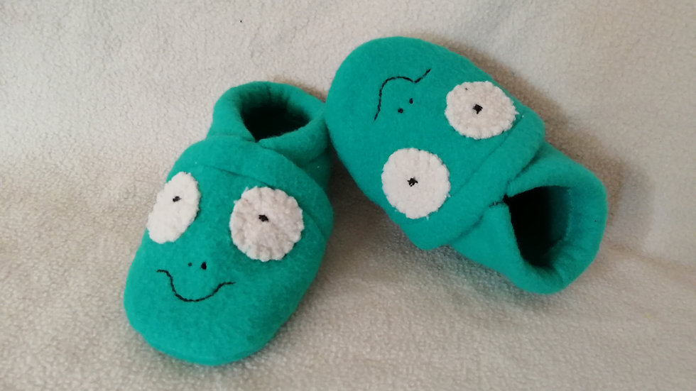 Chaussons grenouille 6-9 mois