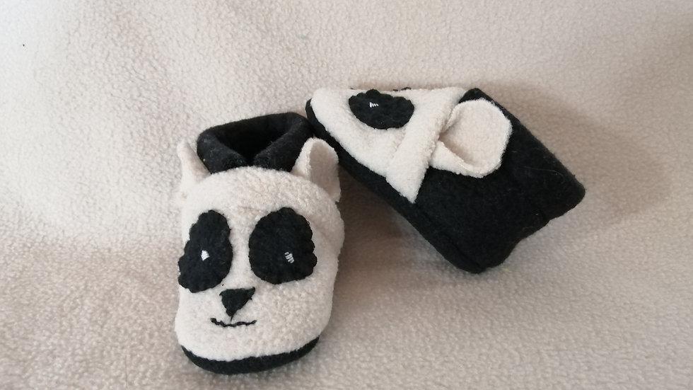 Chaussons panda 0-3 mois