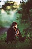 Stille Anbetung und Meditation