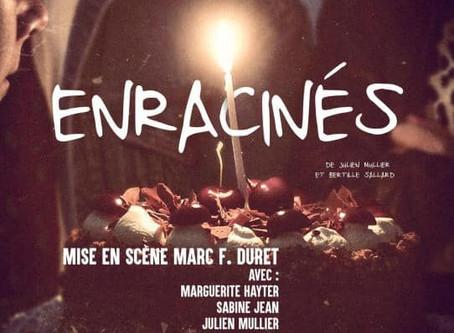 """Marc Duret à la mise en scène d'""""Enracinés"""""""