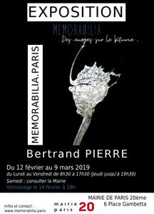 Bertrand PIERRE, Memorabilia des Nuages sur le bitume