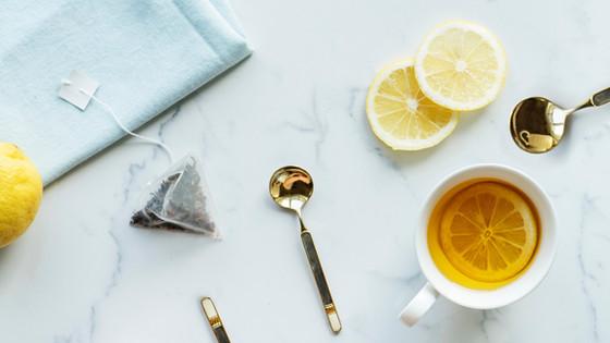 Natural TCM remedy for cold- Lemon Ginger Tea