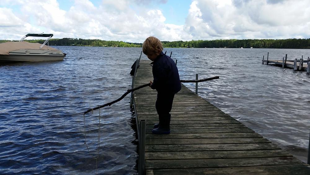 """Fishing"" with Crayton"