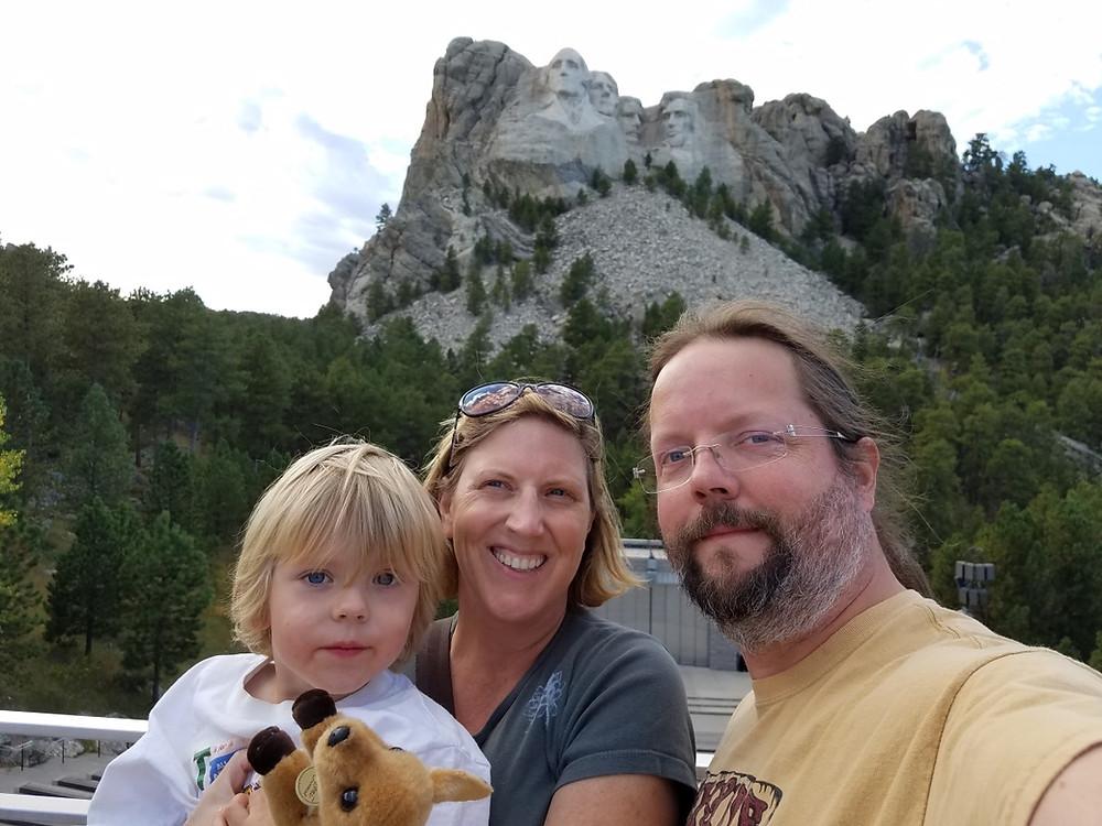 Mt Rushmore Selfie!