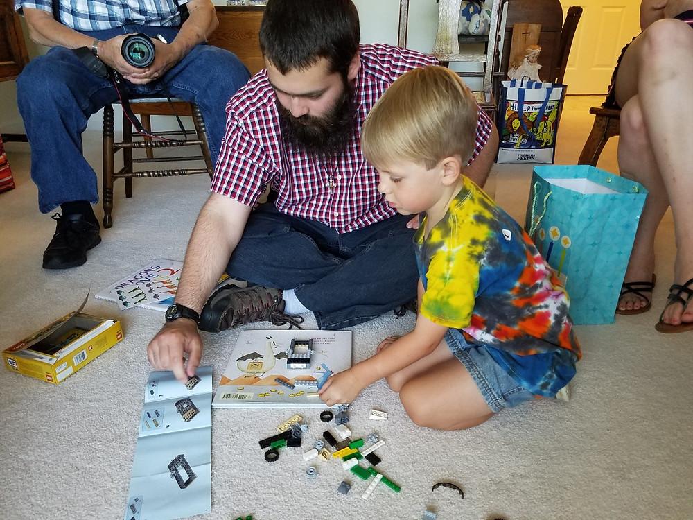 New Lego Set with Cousin Jacob!
