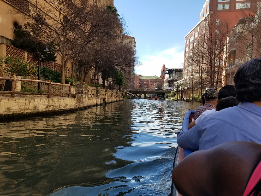 Boat ride on the riverwalk
