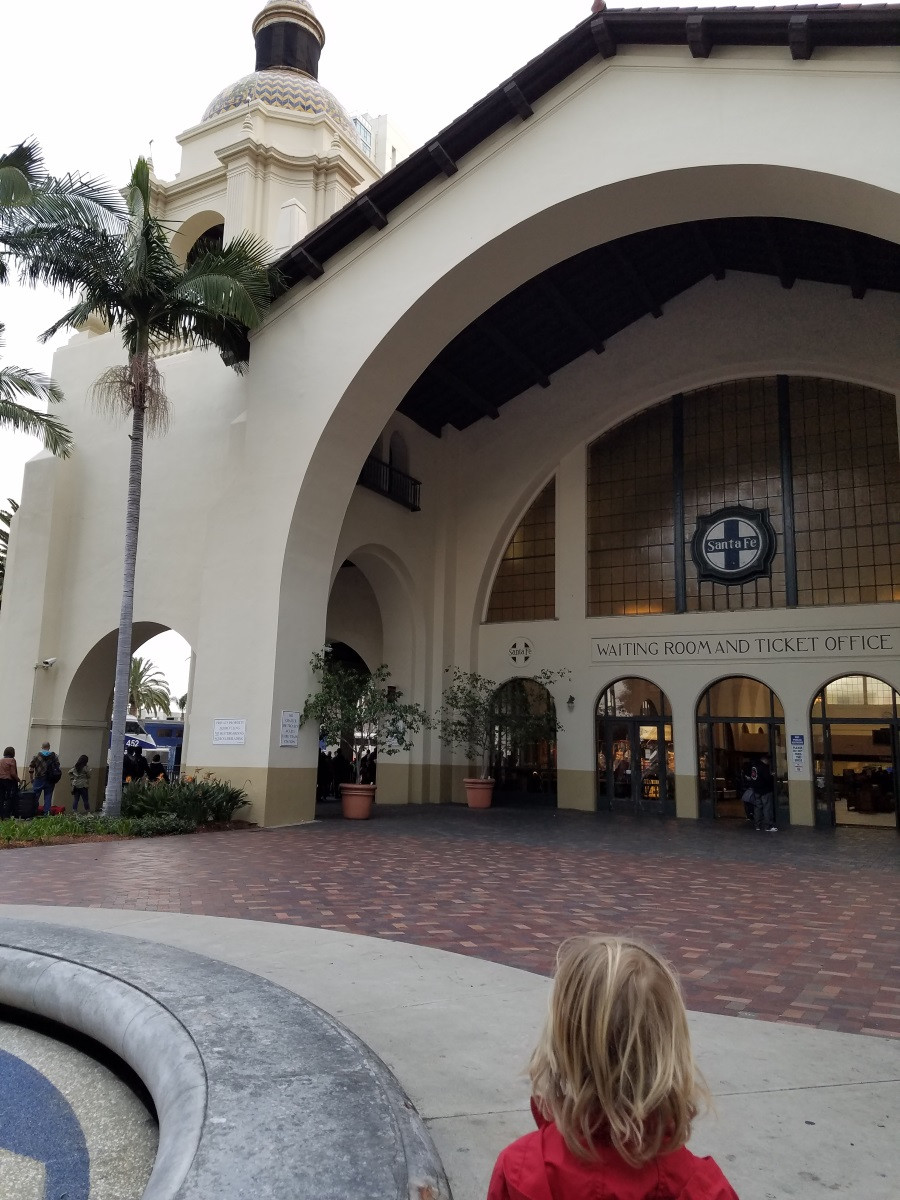 The Old San Diego Santa Fe Depot