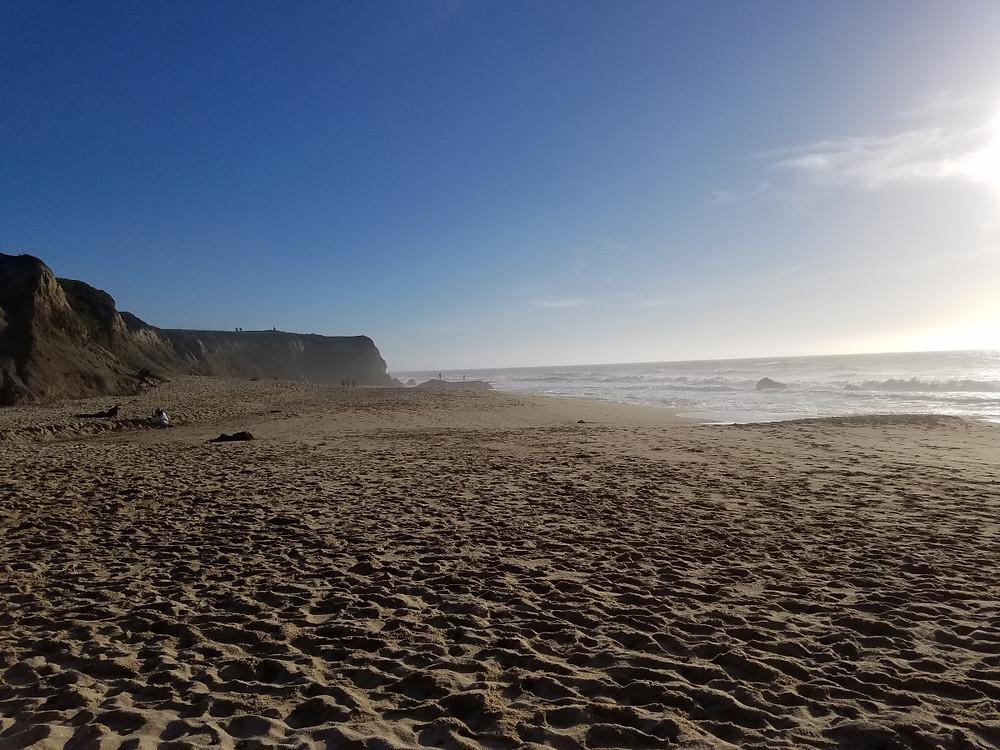 The Beach at Half Moon Bay