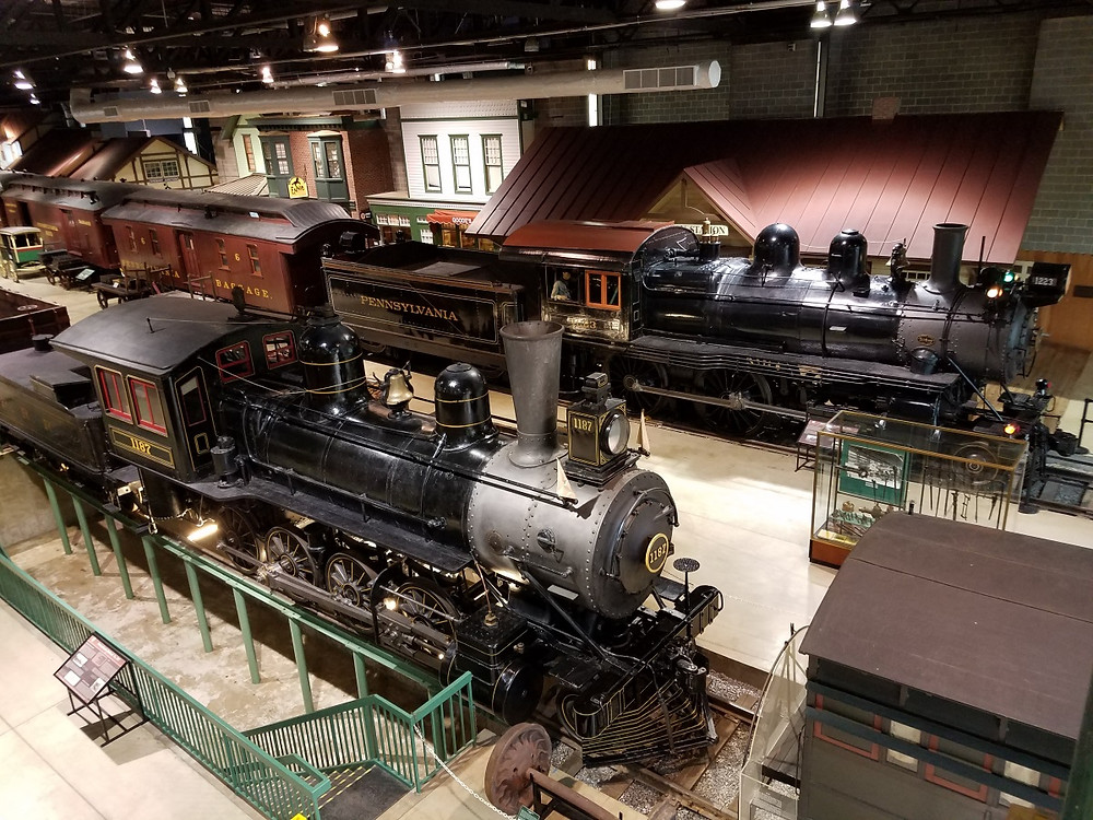 A small part of the train collection at the SRR