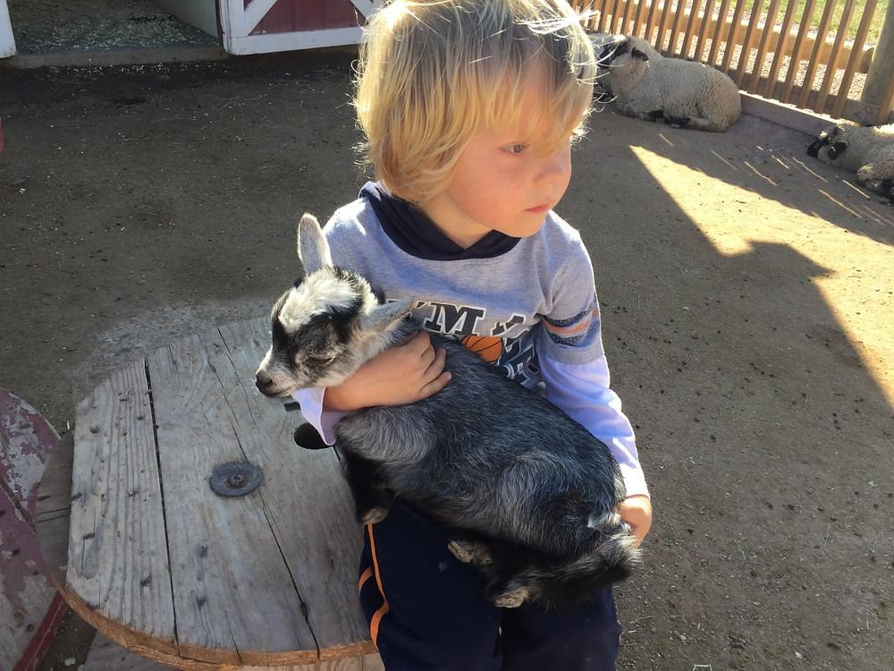 Crayton found a new friend
