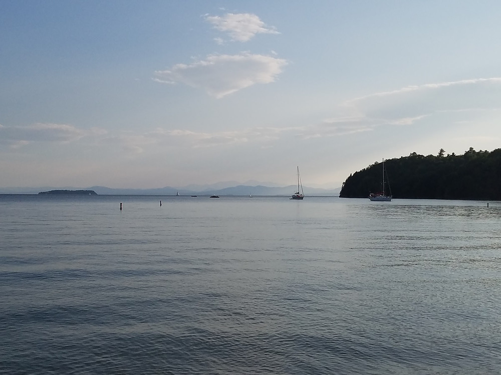 Just can't get sick of that View! Lake Champlain