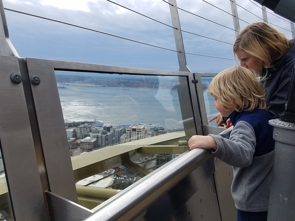 The view from the top of the Paw Patrol Lookout