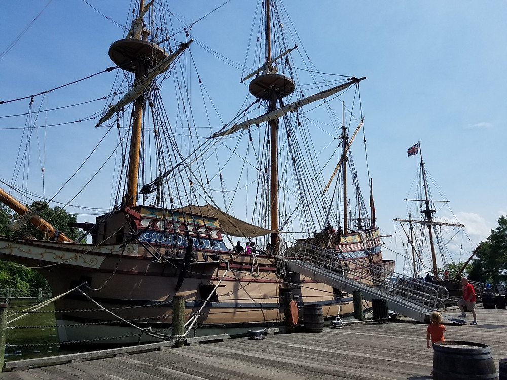 Recreation of the ship Susan Constant