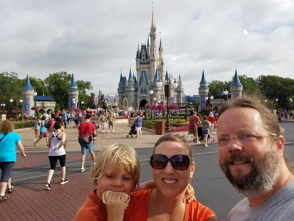 Obligatory Castle Selfie