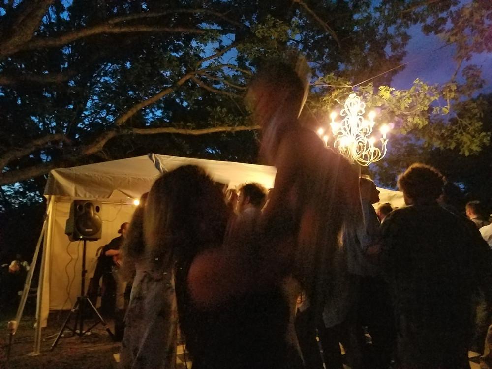 Pam and Crayton dancing!