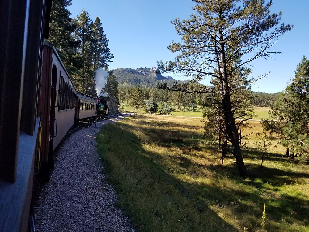View from the 1880 Train