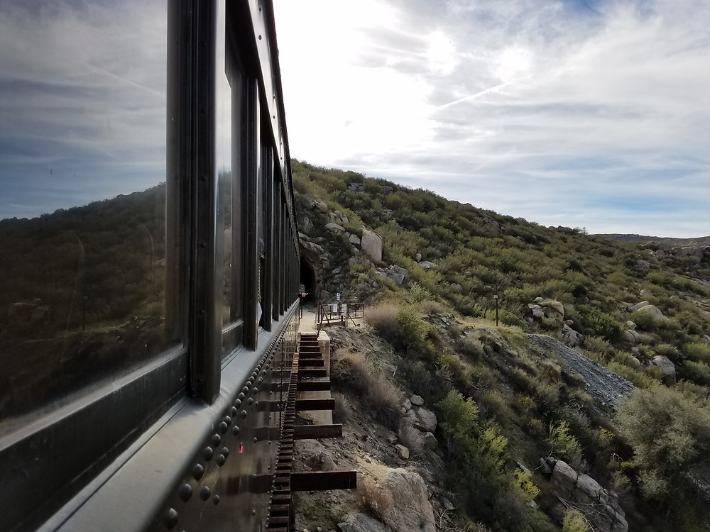 The end of the line. A Tunnel to Mexico