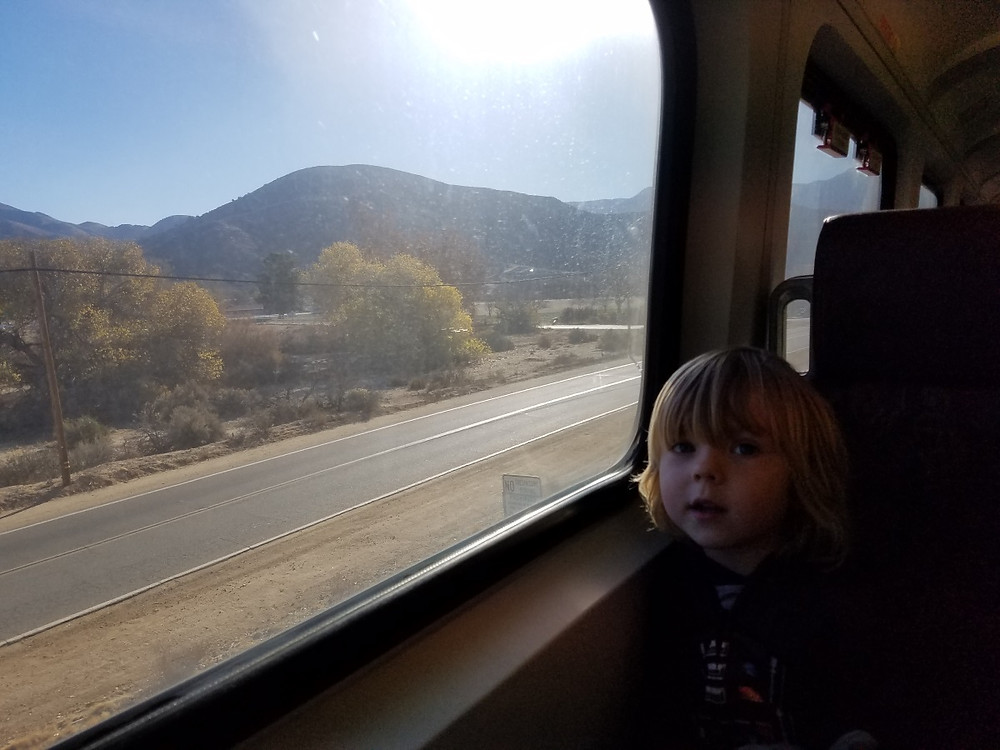 Riding Metrolink into LA