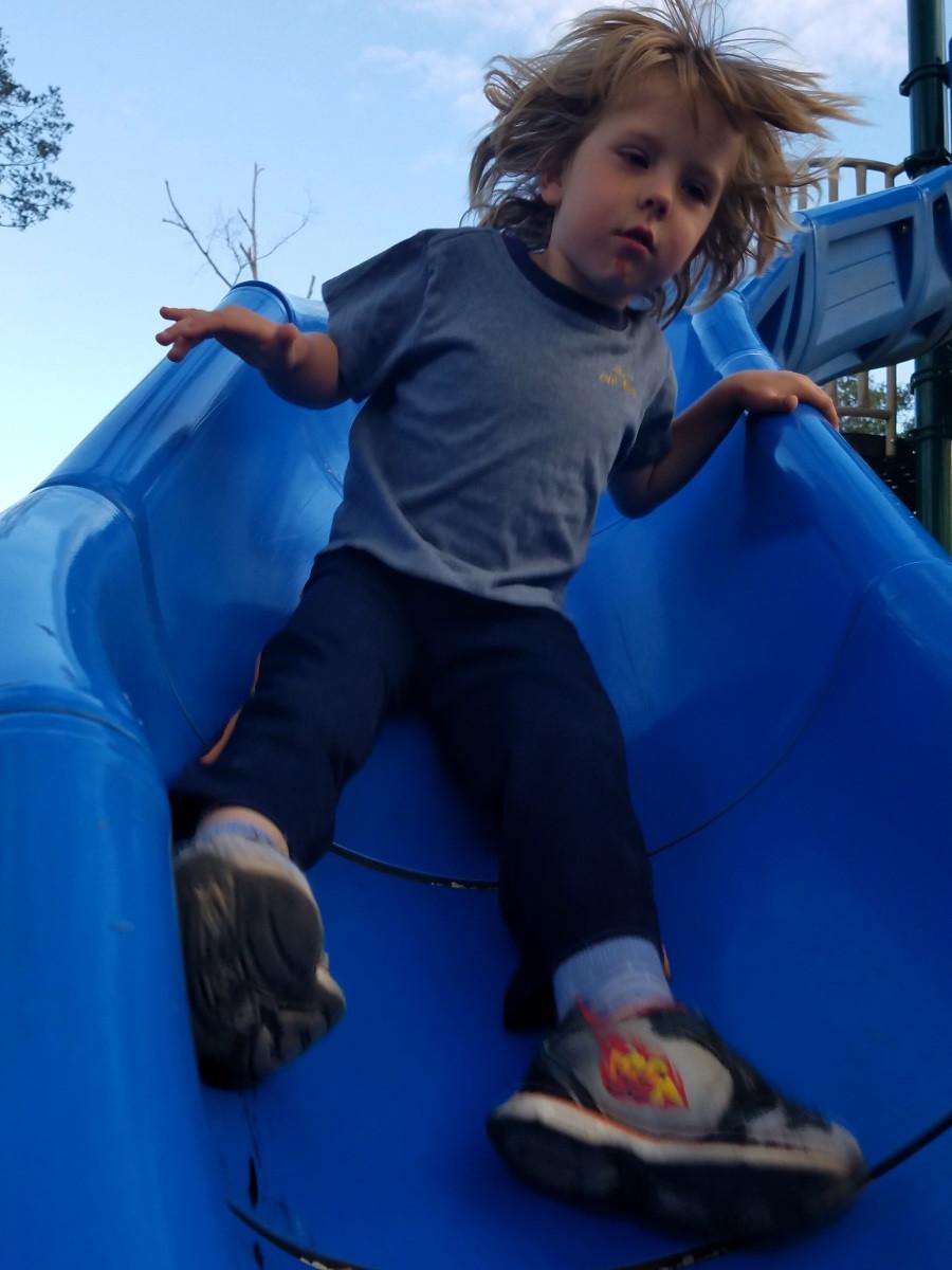a Super-Fast slide!