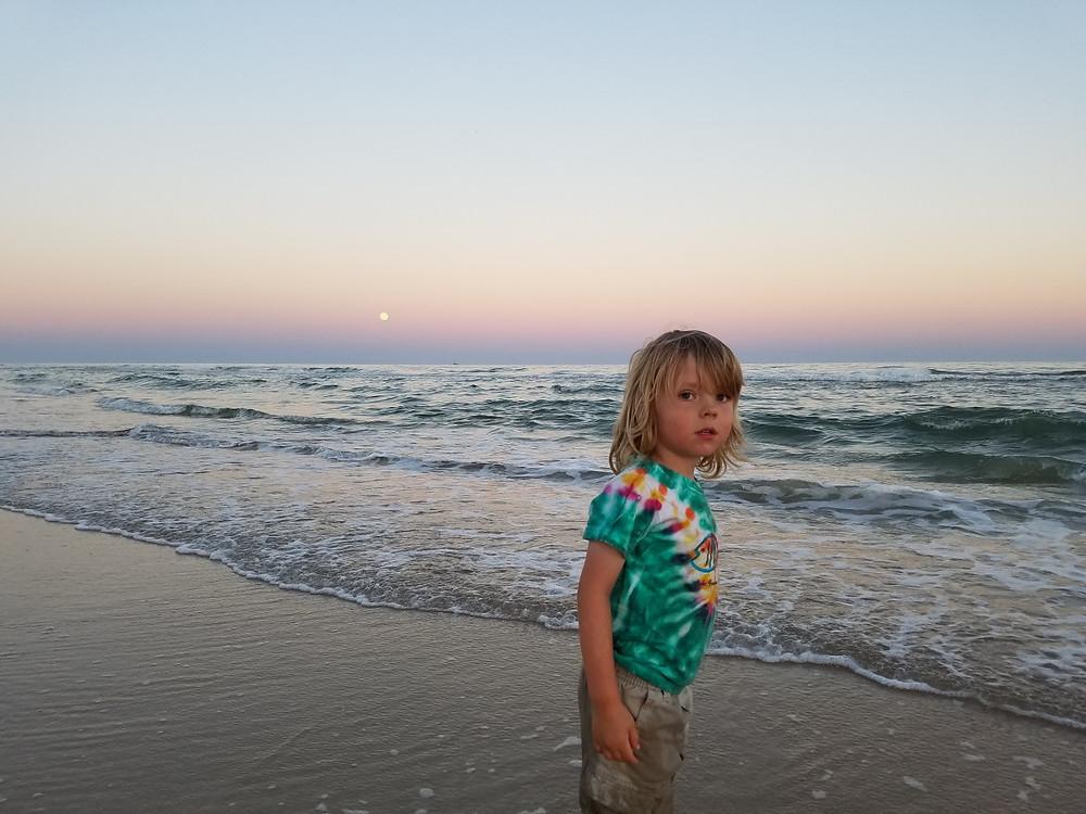 Our beach-bum