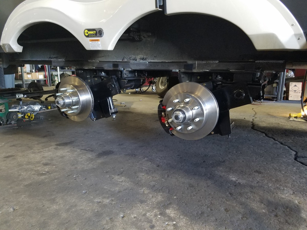 RV Mods: MorRyde Independent Suspension and Disc Brakes