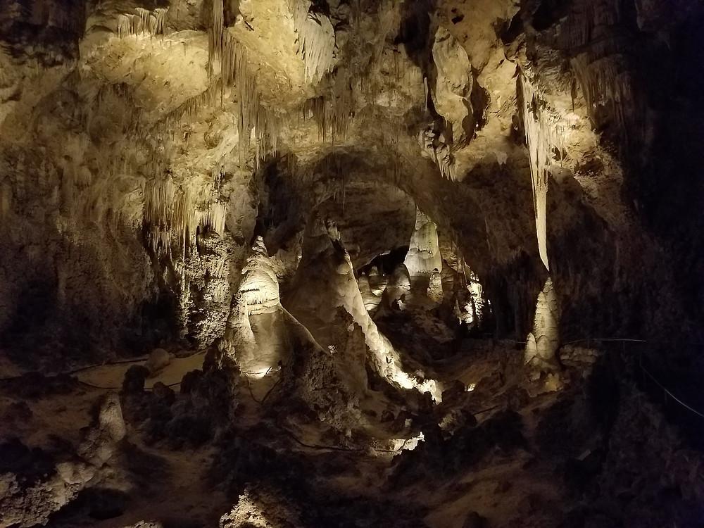 Inside Carlsbad Caverns