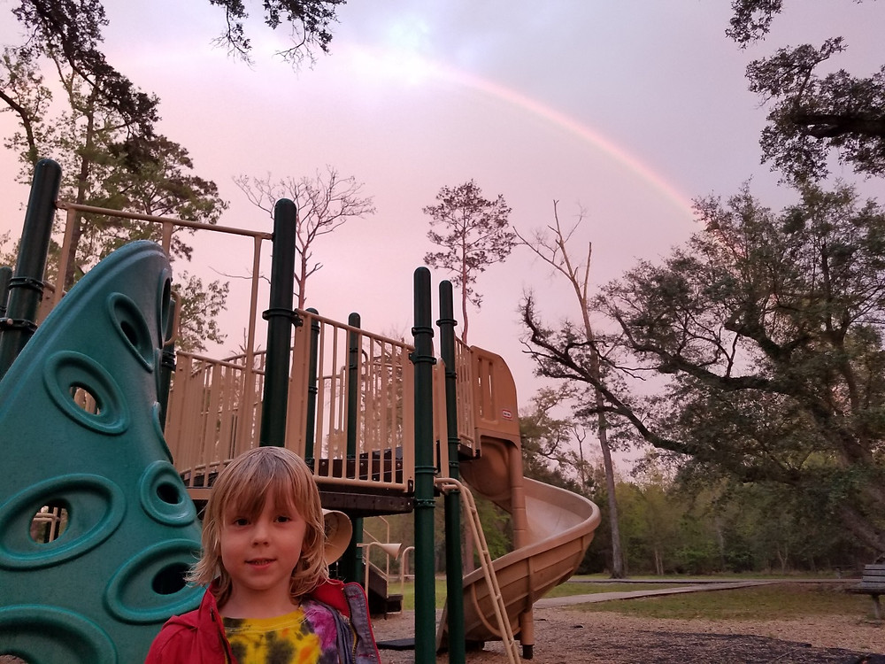 Playground at the end of the rainbow