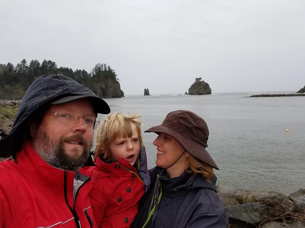 Pacific Ocean selfie!