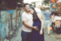 תמונת הריון בשוק הכרמל